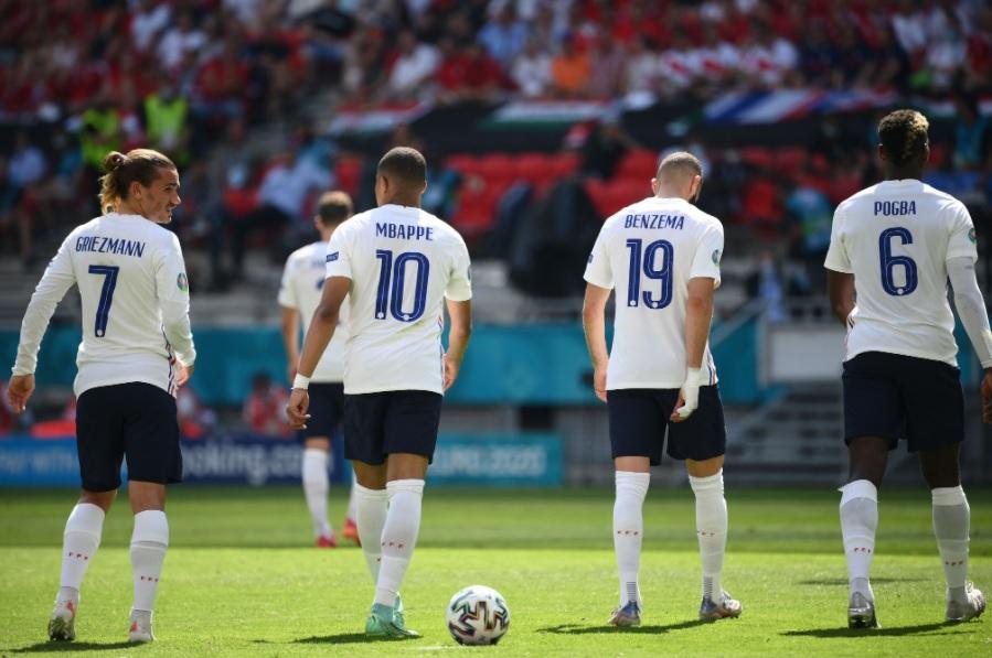المجر تتعادل مع فرنسا
