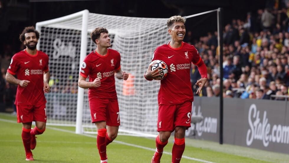 ليفربول يحقق فوزاً مستحقاً على  واتفورد