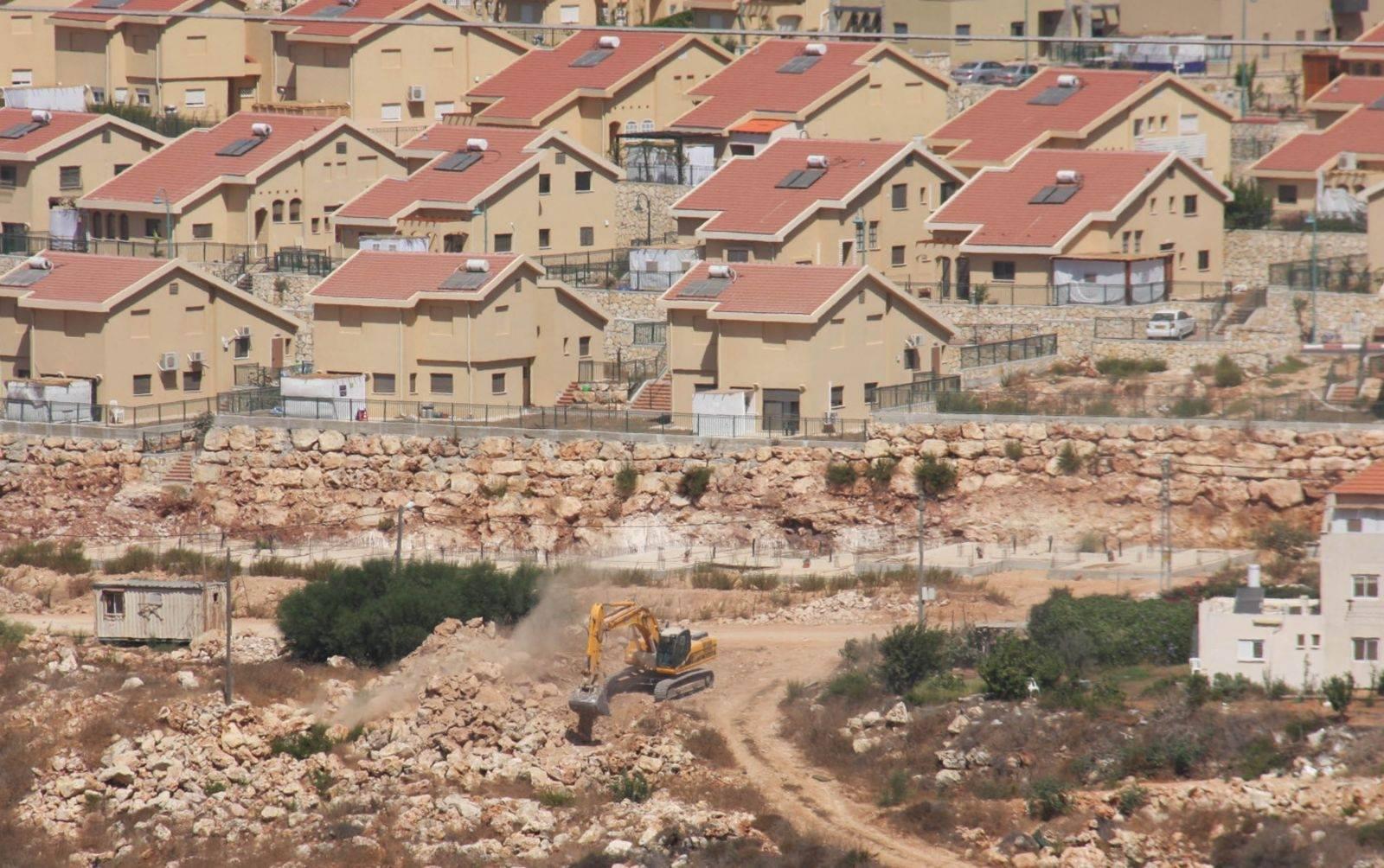 مزيد من المشاريع الاستيطانية الجديدة في محيط مدينة القدس لوأد حل الدولتين