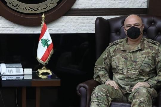 قائد الجيس اللبناني يتوجه الى تركيا لبحث التعاون مع جيشي البلدين