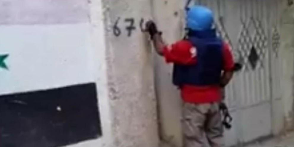 """""""الأونروا"""" تبدأ بترقيم المباني السكنية في مخيم اليرموك وتقييم حالتها"""